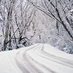 veilig met de auto naar de wintersport